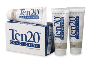 10-20-4T box of 3 Ten20 Conductive Neurodiagnostic Electrode Paste in 4oz per tube