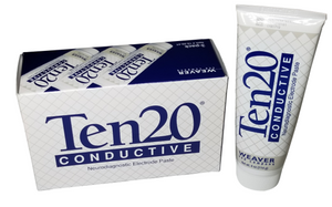 Ten20 Neurodiagnostic Electrode Paste of 3 tubes per box