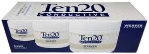 3 pack of 4oz Ten20 Neurodiagnostic Electrode Paste