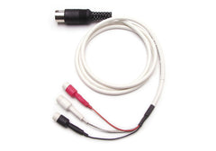 DA-SAF EMG Adaptors 36-inch Shielded cable, changes 1.5mm safety socket into 5-pin DIN plug