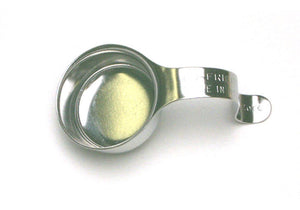 Stainless steel small pumice cup to put on finger