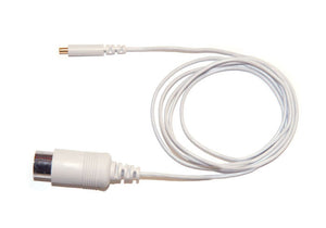 Shielded Technomed Concentric cable in white
