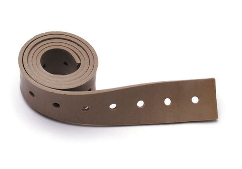 PS:  Perforated Strap Made of Natural Rubber