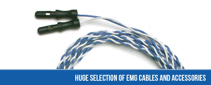 Huge Selection of EMG Cables and Accessories