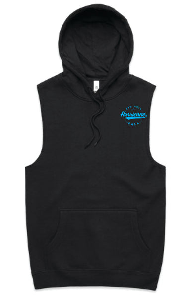 HF Black Hooded Vest