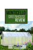 Monticello Greenhouse Review