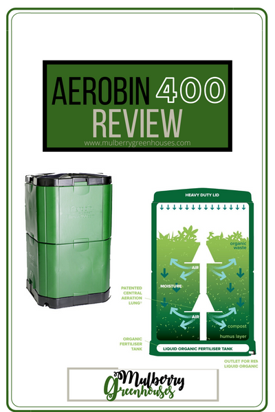 aerobin 400, composter, compost bin, mulberry greenhouses
