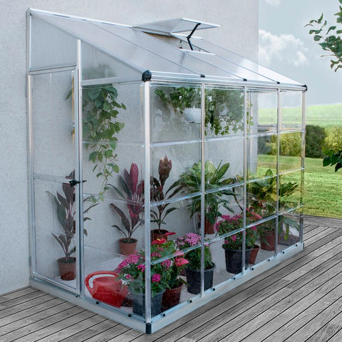lean To greenhouse, heating a greenhouse,