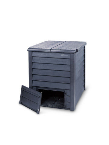 Image of Thermo-wood 600 Composter with Soil Fence - Mulberry Greenhouses