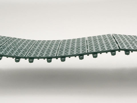 Image of Riverstone Interlocking Flooring System of Panels - Mulberry Greenhouses