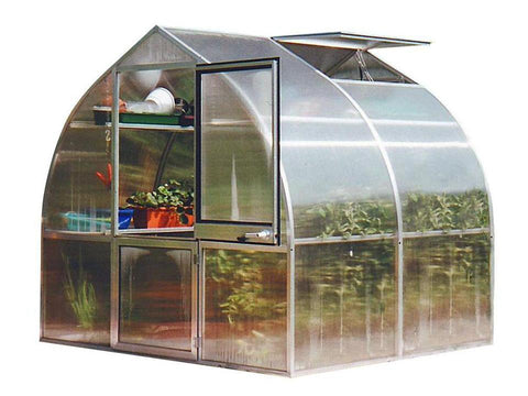 Image of Hoklartherm Riga 2s Greenhouse 8x7 - Mulberry Greenhouses - {product_vendor] - Hobby Greenhouse