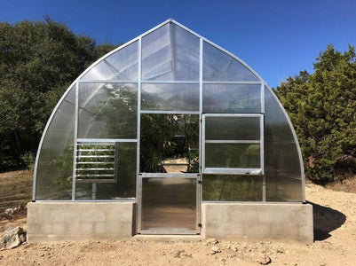 Hoklartherm Riga XL 7 Greenhouse 14x23 - Mulberry Greenhouses