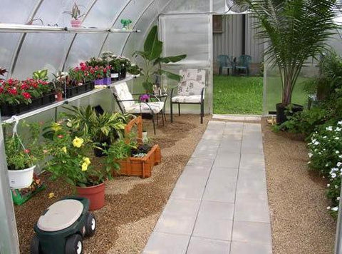 Image of Hoklartherm Riga XL 7 Greenhouse 14x23 - Mulberry Greenhouses - {product_vendor] - Hobby Greenhouse