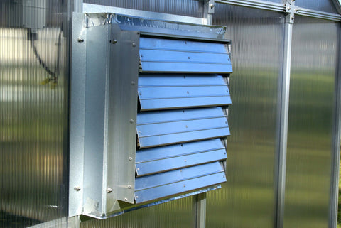 Image of Monticello Solar Powered Ventilation System - Mulberry Greenhouses