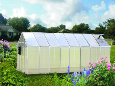 Riverstone Monticello Greenhouse 8x16 - Growers Edition - Mulberry Greenhouses