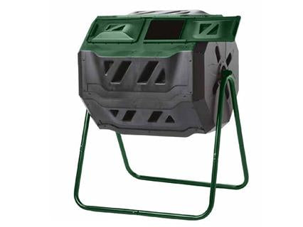 Mr. Spin Dual Compartment Compost Tumbler - Mulberry Greenhouses
