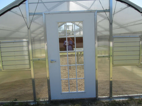 Image of Riverstone 12ft x 18ft Whitney Educational Greenhouse Kit - Mulberry Greenhouses