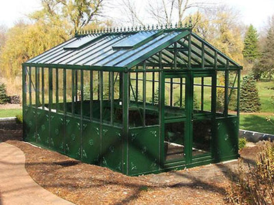Janssens Retro Royal Victorian VI34 Greenhouse 10ft x 15ft - Mulberry Greenhouses