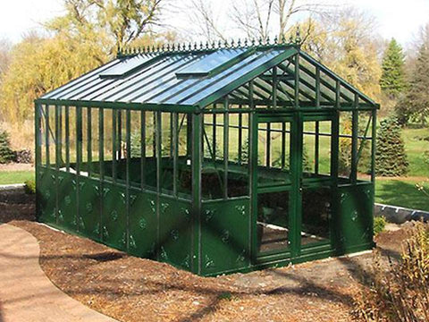 Image of Janssens Retro Royal Victorian VI36 Greenhouse 13ft x 20ft - Mulberry Greenhouses