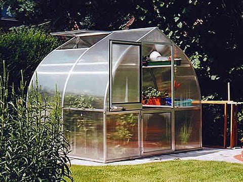 Image of Hoklartherm Riga 2s Greenhouse 8x7 - Mulberry Greenhouses