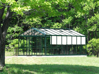 Exaco Janssens Royal Victorian VI46 Greenhouse 13ft x 20ft-GREEN - Mulberry Greenhouses - {product_vendor] - Hobby Greenhouse
