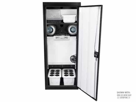 SuperCloset SuperStar Smart Grow Cabinet - Mulberry Greenhouses