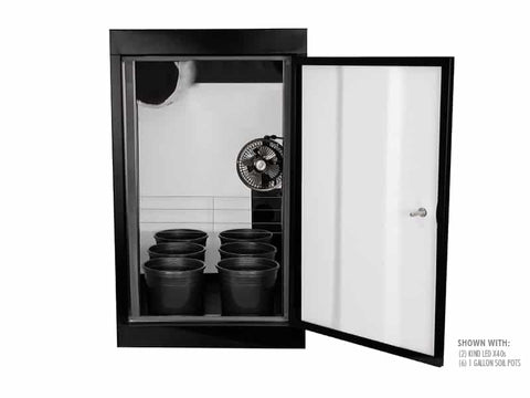 SuperCloset SuperBox LED Smart Grow Box - Mulberry Greenhouses