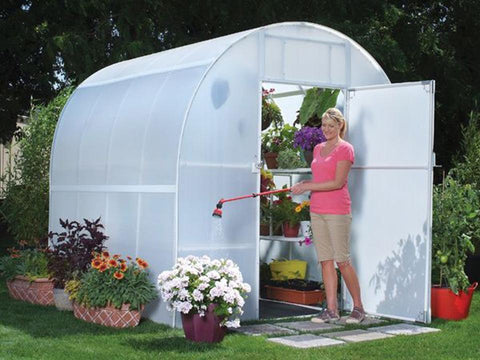 Image of Solexx 8ft x 12ft Gardener's Oasis Greenhouse G-212 - Mulberry Greenhouses