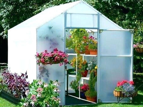 Image of Solexx 8ft x 24ft Garden Master Greenhouse G-524 - Mulberry Greenhouses