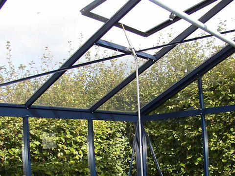 Exaco Janssens Royal Victorian VI34 Greenhouse 10ft x 15ft - Green - Mulberry Greenhouses