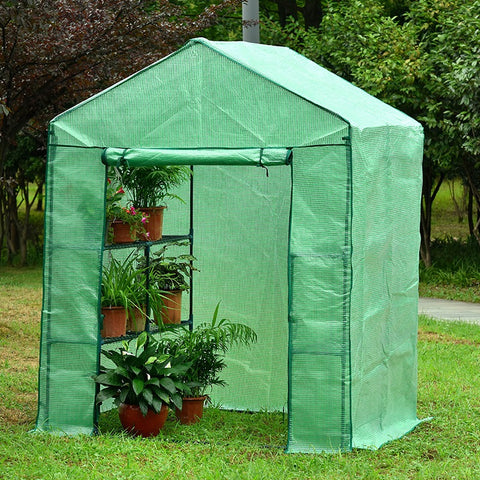 Image of Genesis Portable Walk in Greenhouse - Mulberry Greenhouses