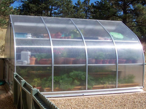 Hoklartherm Riga 4 Greenhouse 10x14 - Mulberry Greenhouses - {product_vendor] - Hobby Greenhouse