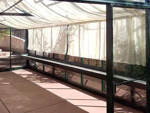 Image of Exaco Janssens Royal Victorian Shade Cloths - Mulberry Greenhouses