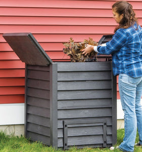 Thermo-wood 600 Composter with Soil Fence - Mulberry Greenhouses