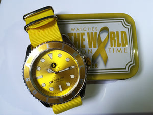 Reloj SAVE THE WORLD - Cáncer infantil