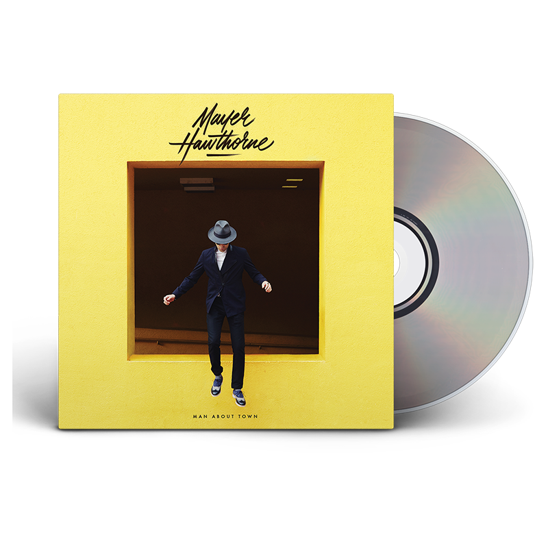 Man About Town CD - Mayer Hawthorne