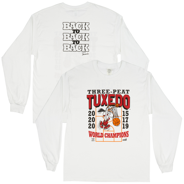 Tuxedo - Three-Peat Long Sleeve Tee