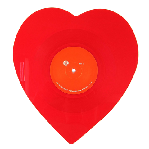 "Just Ain't Gonna Work Out 10"" Heart Shaped Vinyl"