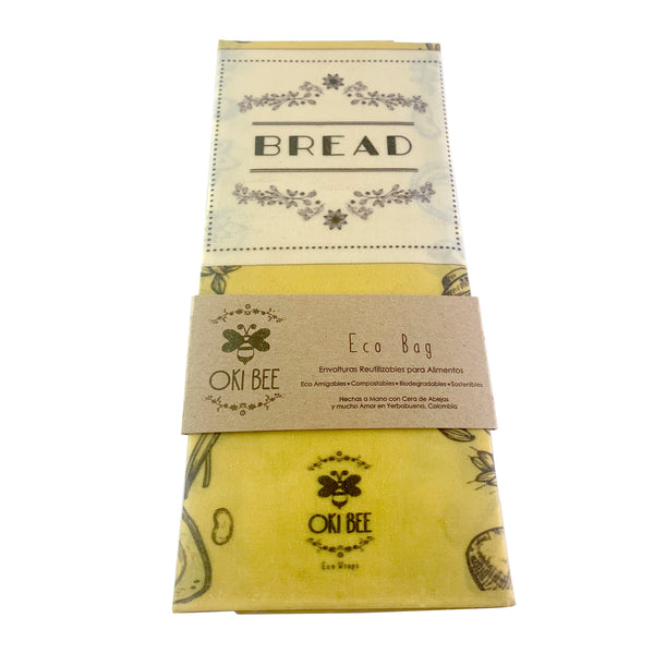 Eco Wraps Oki Bee Bread Bag