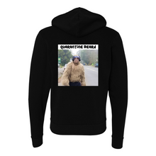 Load image into Gallery viewer, Quarantine Beard Bigfoot Zip Hoodie