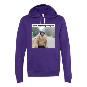 Social Distancing Champion Hooded Sweatshirt