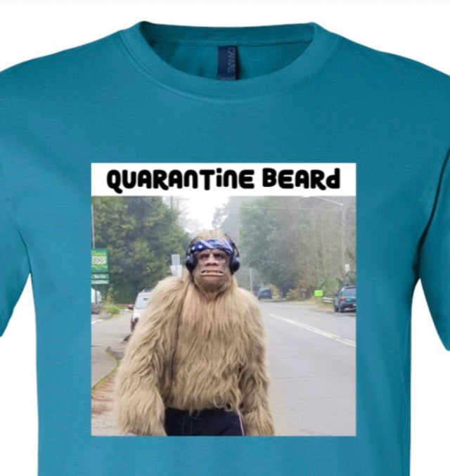 Quarantine Beard Bigfoot Strut