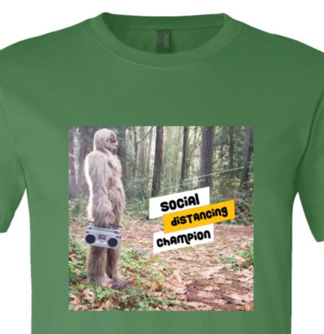 Social Distancing Champion Tee