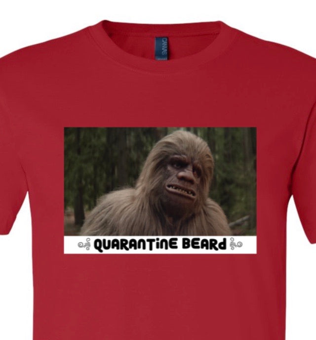 Bigfoot Quarantine Beard Tee