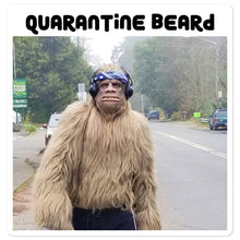 Load image into Gallery viewer, Quarantine Beard Bigfoot stickers