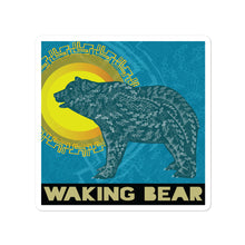 Load image into Gallery viewer, Waking Bear Logo Stickers