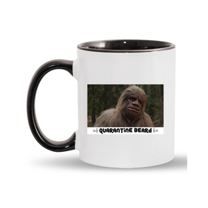 Bigfoot Quarantine Beard Coffee Mug
