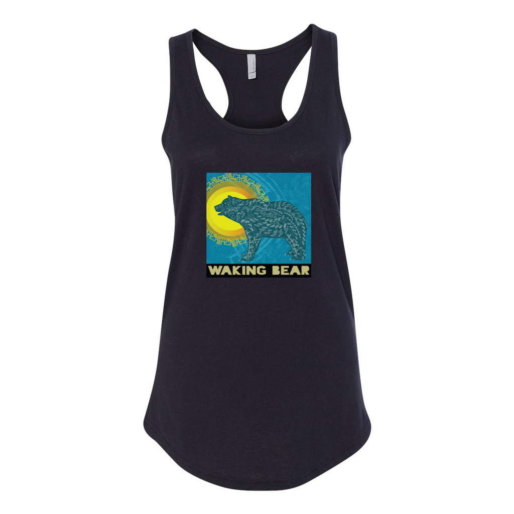 Women's Waking Bear Racerback Tank