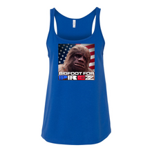 Load image into Gallery viewer, Women's Bigfoot for Prez Tank