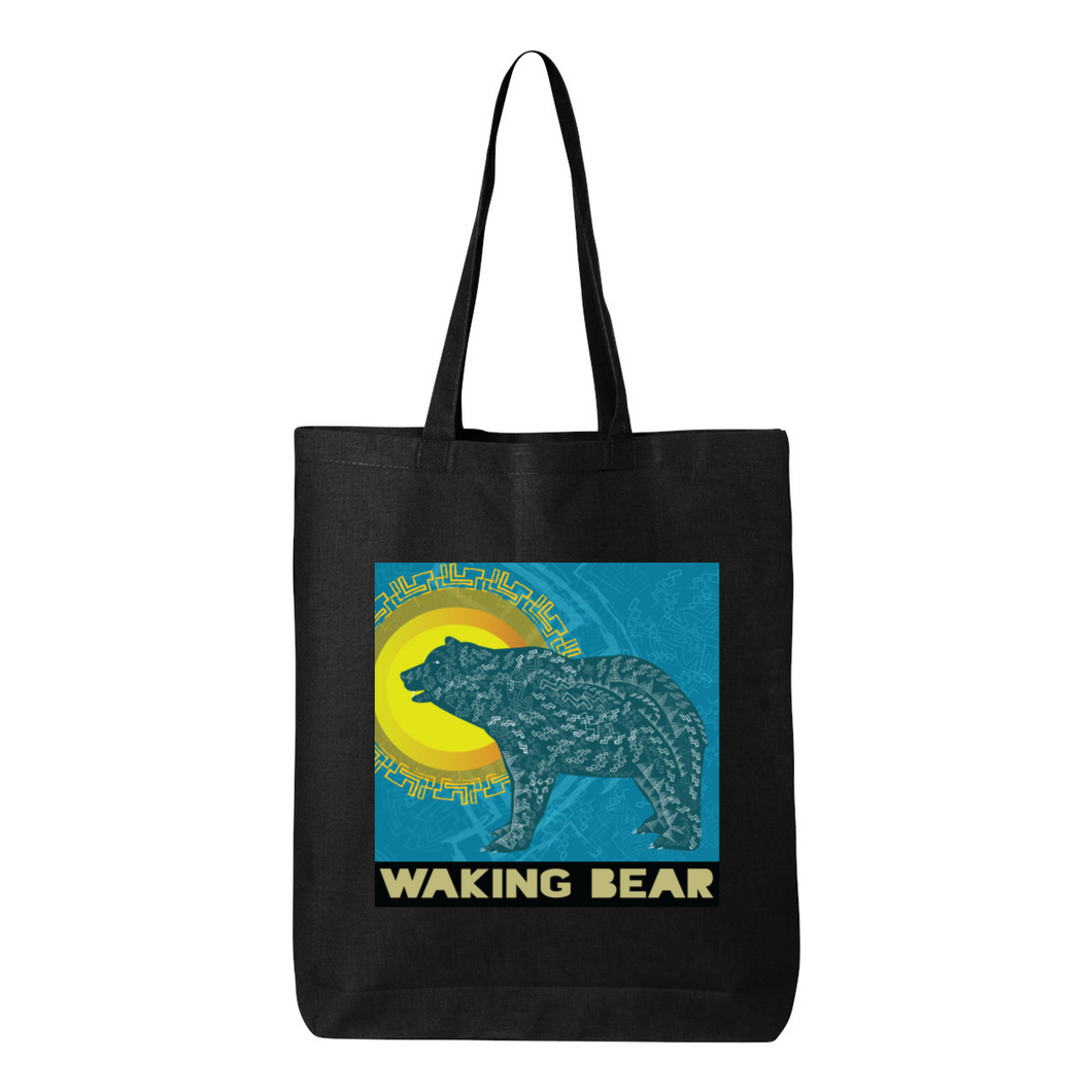 Waking Bear Eco Tote Bag